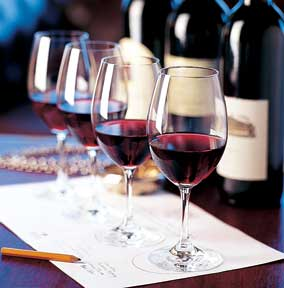 Wine tasting is a popular combination of education and entertainment on cruises.