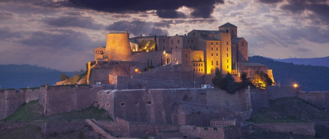 The Parador of Cardona, built in the 9th-11th centuries, is 85 km from Barcelona.