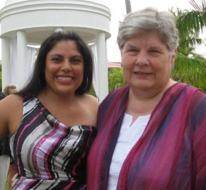 Daughter Teresa and I enjoyed a friend's Caribbean wedding last summer