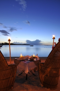 How about a Romantic dinner on the beach at the InterContinental Moorea?