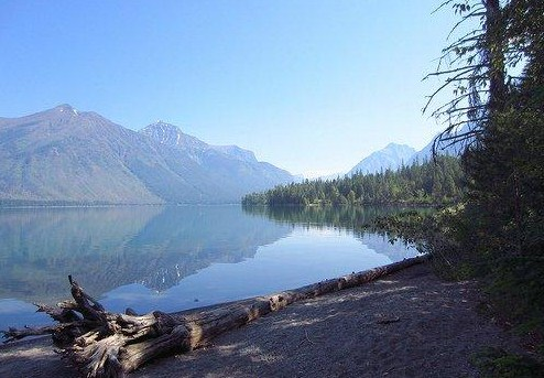 Sprague Creek picnic area, Lake McDonald, Glacier National Park (NPS photo)