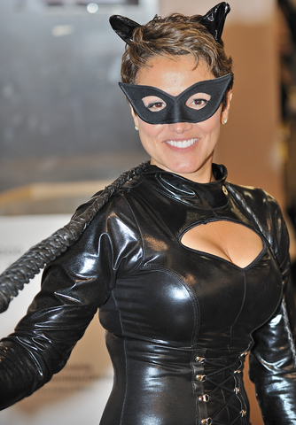 If you are at the right convention, people will say your Catwoman costume is fabulous rather than weird.