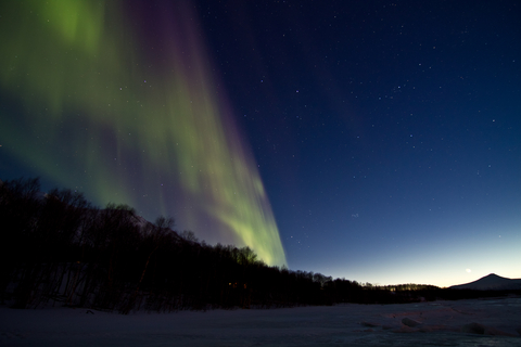 What better time can there be to see the northern lights? Photo by Knutklo