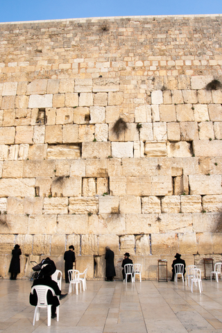 The Western Wall has received centuries of appeals, both spoken and written. Photo by Jvdwolf