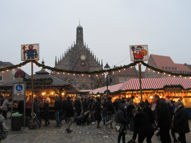 Nuremberg hosts one of the largest Christmas markets in Germany.