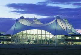 The new Denver International Airport is officially DIA but is better known by the city code DEN.