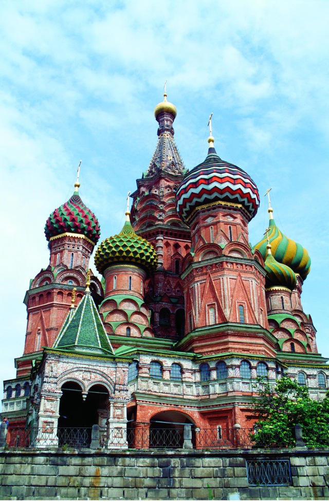 City touring in Moscow would include St. Basil's Cathedral. Photo by Viking River Cruises