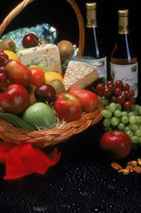 Enjoying cheese, wine, and produce in the region that made them is a special luxury.