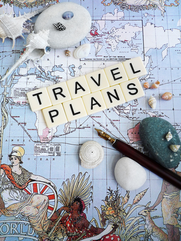 Time spent planning is time saved during the trip.  Photo by Joanne Zh