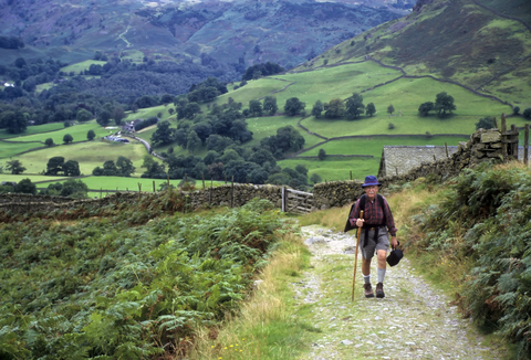 The fresh air of England's Lake District will make a poet of anyone.