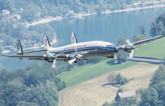 Lockheed's Constellation was the height of comfort and luxury until jets made flying faster. Photo by Lockheed Martin
