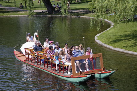So simple and so pleasant, the swan boats in the Boston Public Garden   Photo by Americanspirit | Dreamstime.com