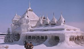 This is the country home which Zhivago and his family retreated to. Bring blankets!