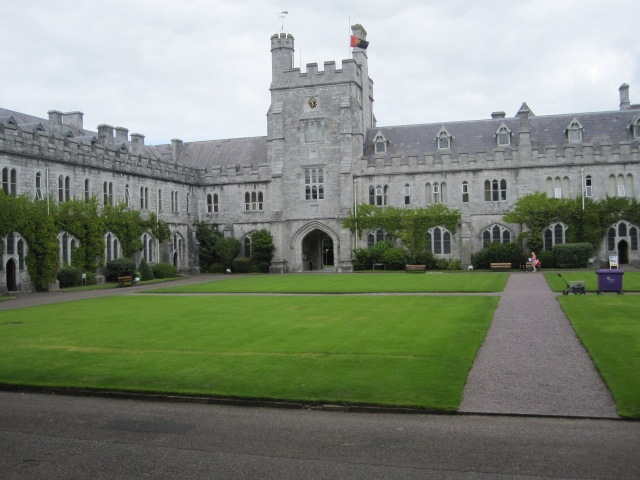 A green in the older section of UCC, formerly Queen's College in Cork Photo by Je. Emmons