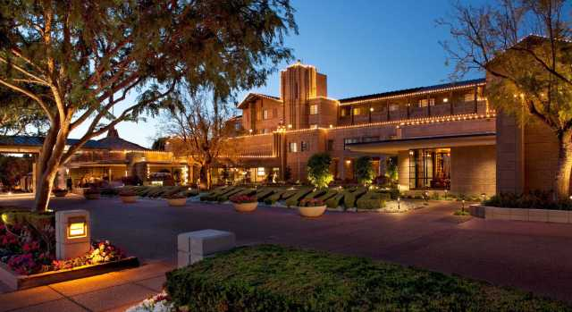 The Arizona Biltmore, from Frank Lloyd Wright's design team, is now affiliated with Hilton.