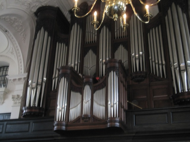 The organ at St. Martin in the Fields Photo by J Emmons